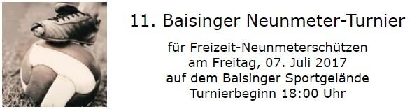 11. Baisinger Neunmeter-Turnier